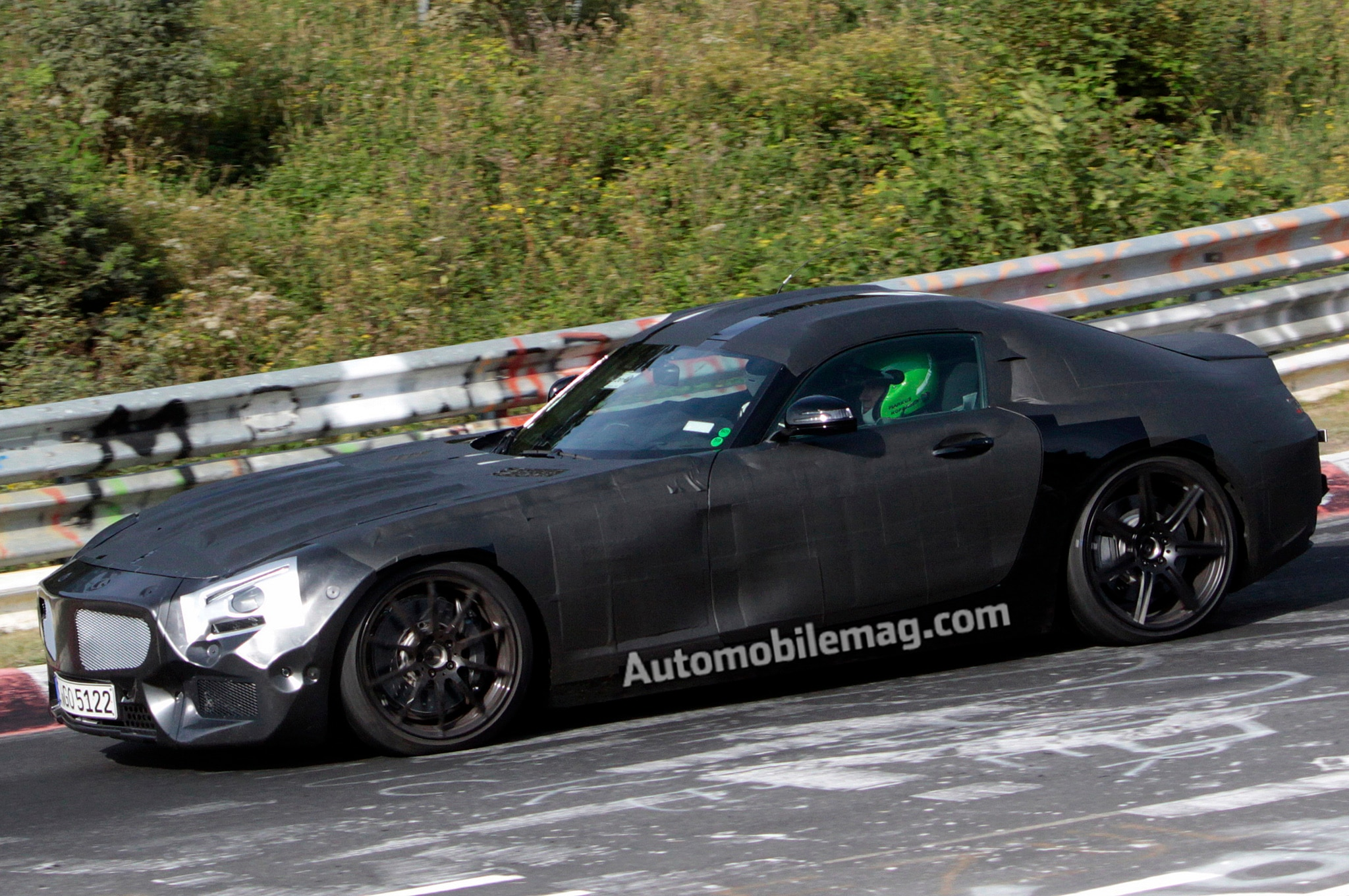 2015 Mercedes Slc Front Three Quarters Spy Shot1
