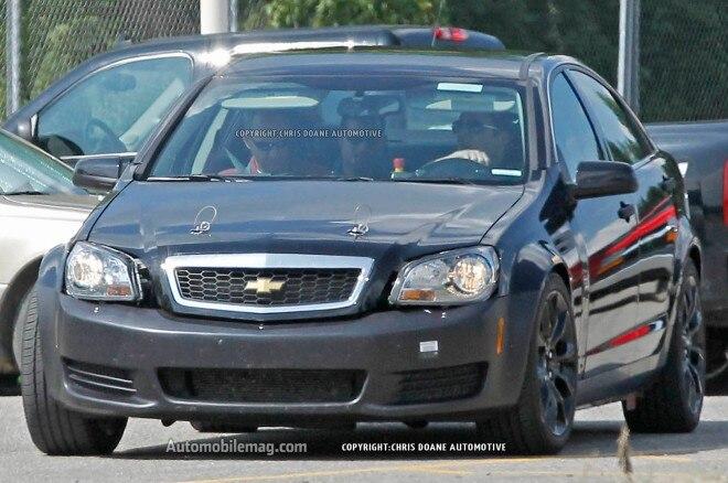 2016 Cadillac Flagship Sedan Development Mule Front View 31 660x438