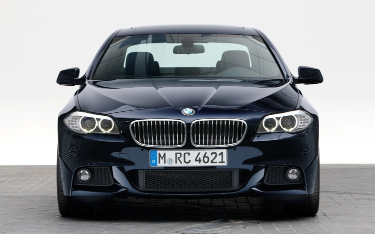 BMW D Smokes Up New Ad - 2013 bmw 535d