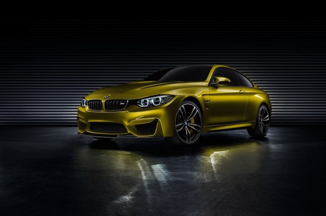 BMW M4 Concept Front Left View1 660x438