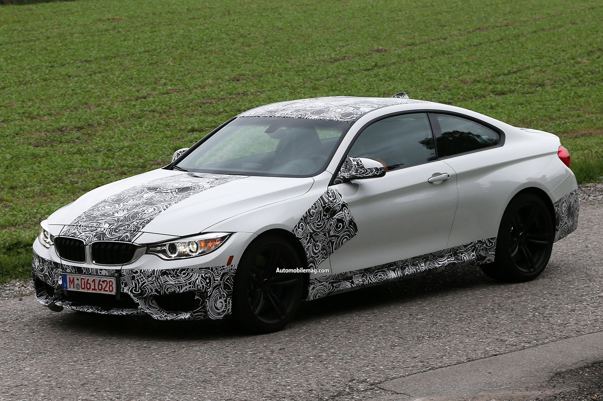 2014 bmw m4 convertible m4 coupe m3 sedan spied again. Black Bedroom Furniture Sets. Home Design Ideas