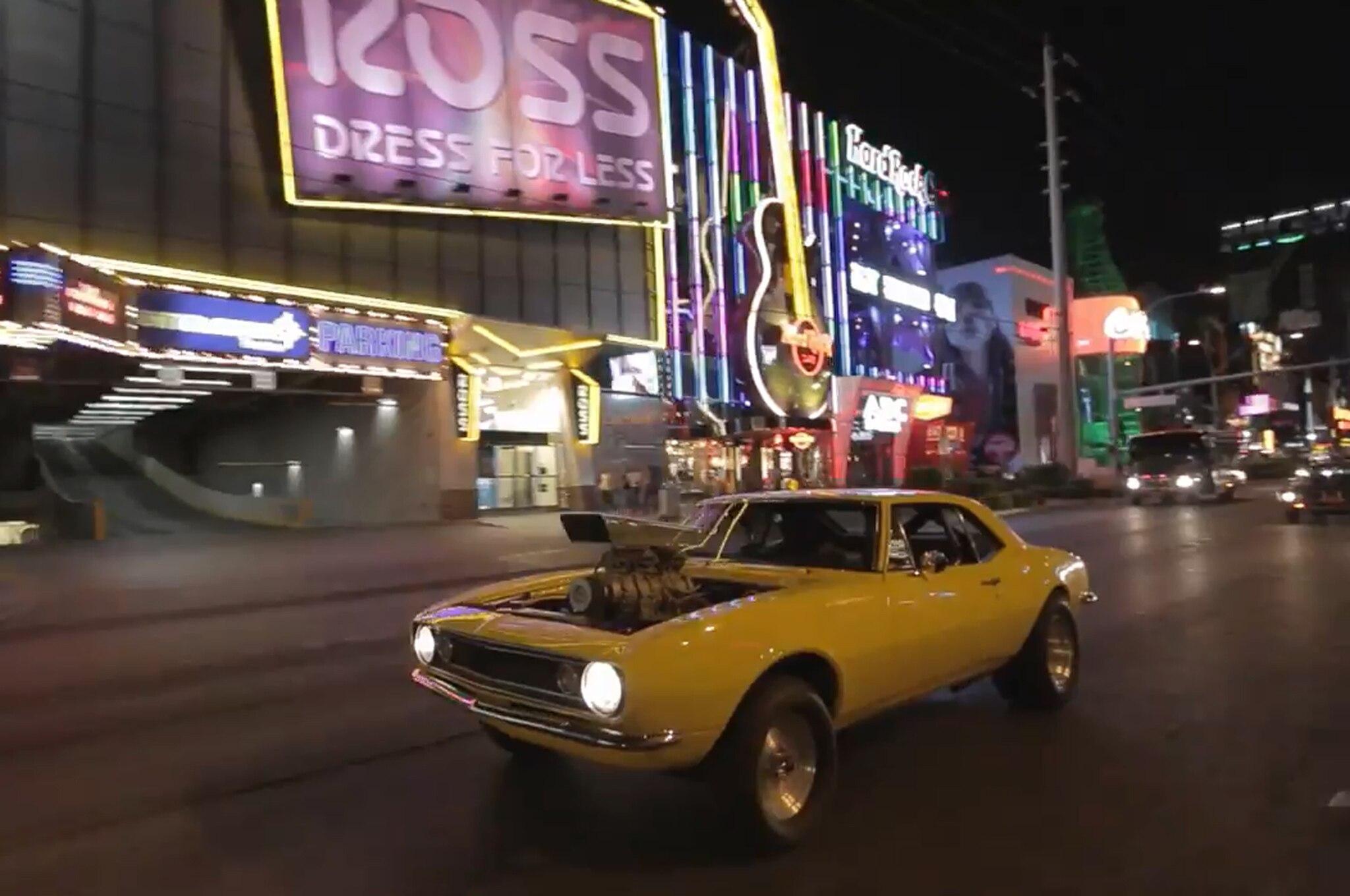 Crusher Camaro Las Vegas1
