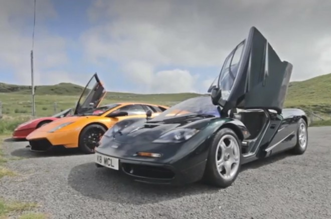 Evo McLaren F1 Lamborghini Murcielago SV Ferrari F50 Front View1 660x438