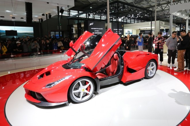 Ferrari LaFerrari Front Three Quarter1 660x438