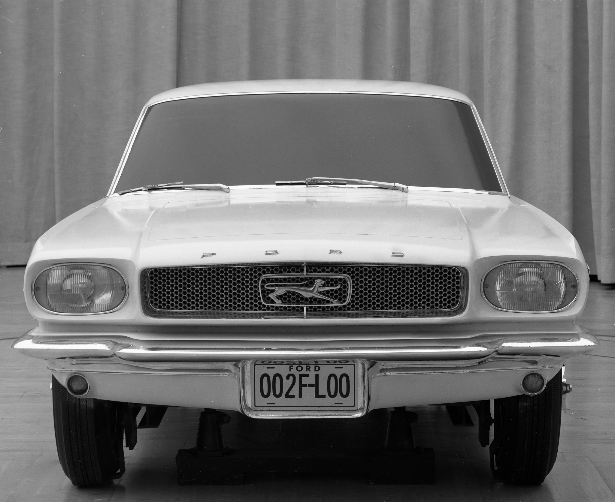 From Concept To Showroom: 1965 Ford Mustang Sketches