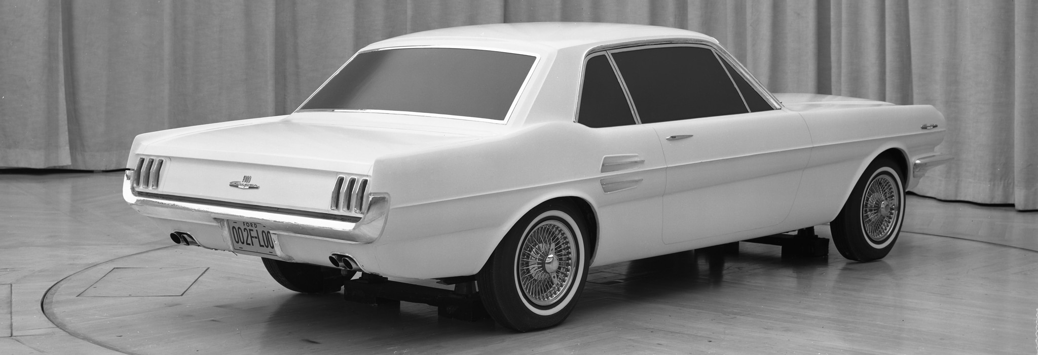 From Concept To Showroom 1965 Ford Mustang Sketches