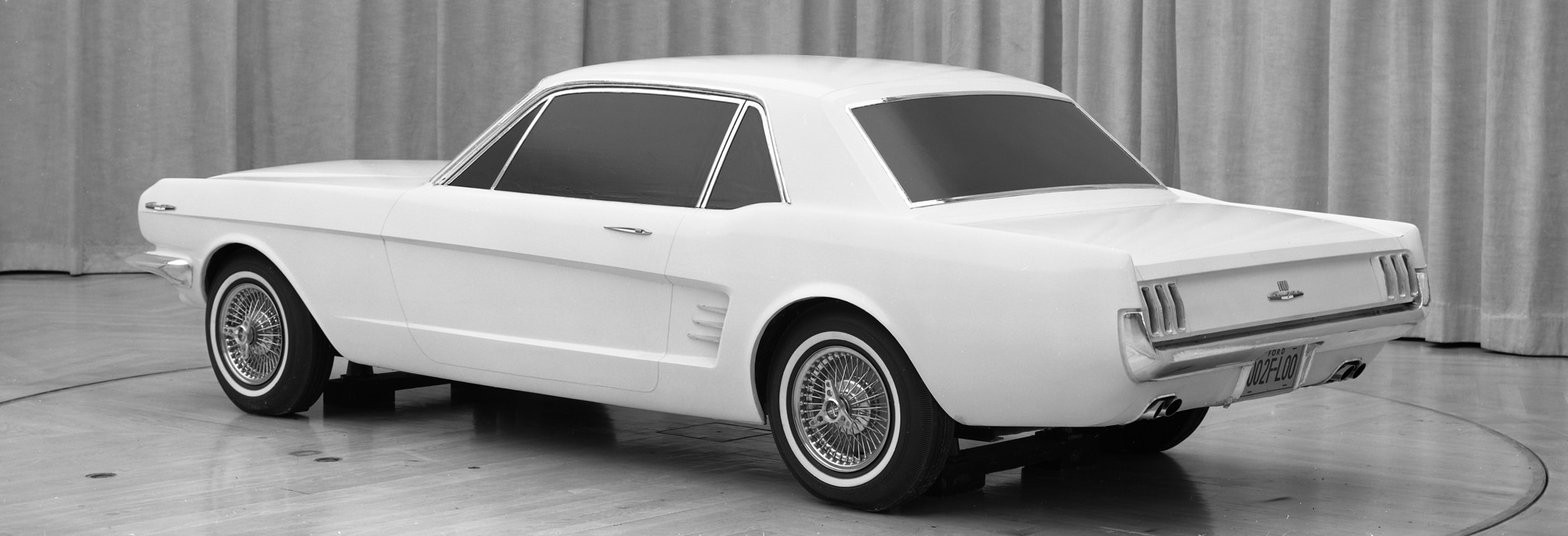1965 Mustang Price >> From Concept to Showroom: 1965 Ford Mustang Sketches