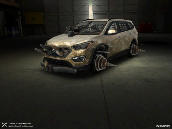Hyundai SantaFe Carl Zombie Machine1 604x453