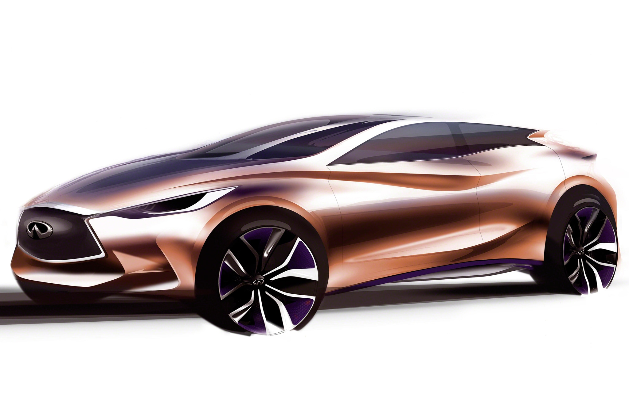 Infiniti Q30 Concept Sketch1