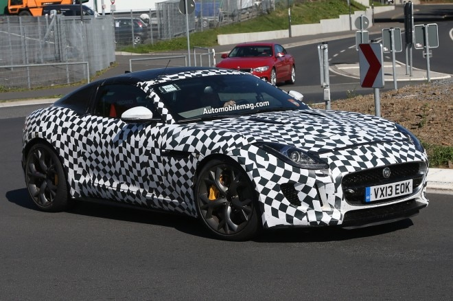 Jaguar F Type R S Coupe Prototype Right Front 11 660x438