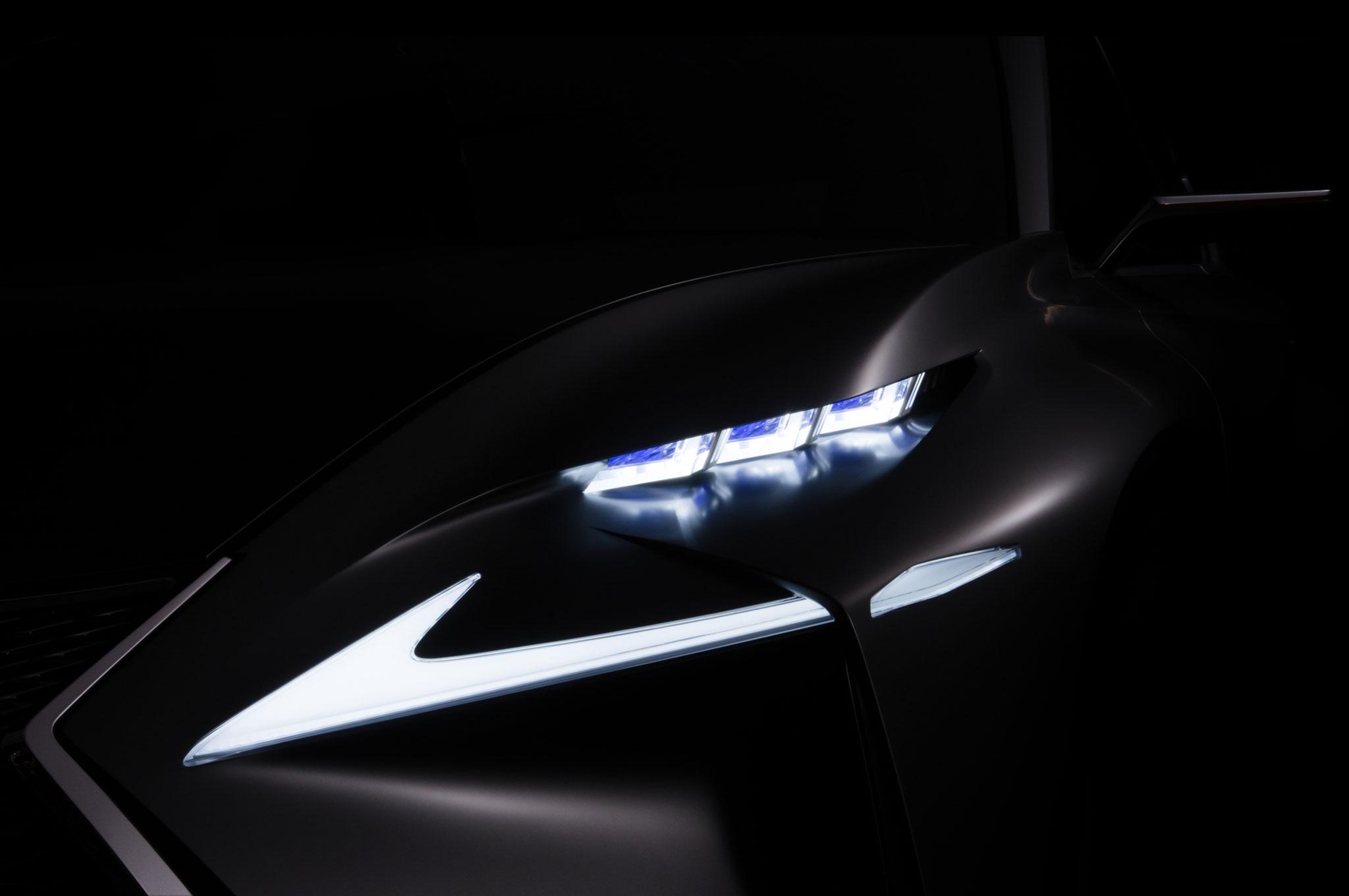 Lexus Concept Frankfurt 2013 Teaser1