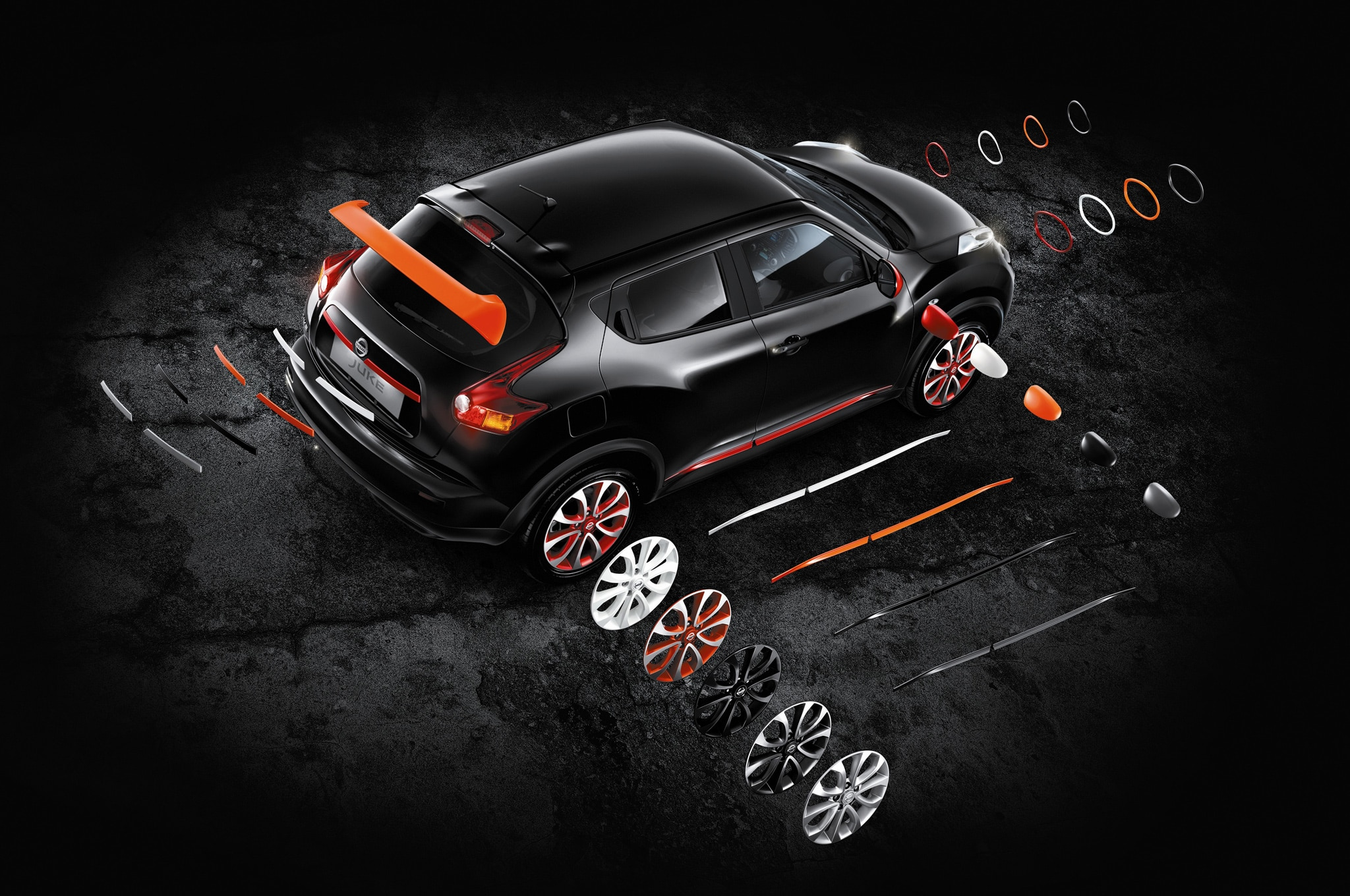Nissan Juke Customization Program Exterior Elements1