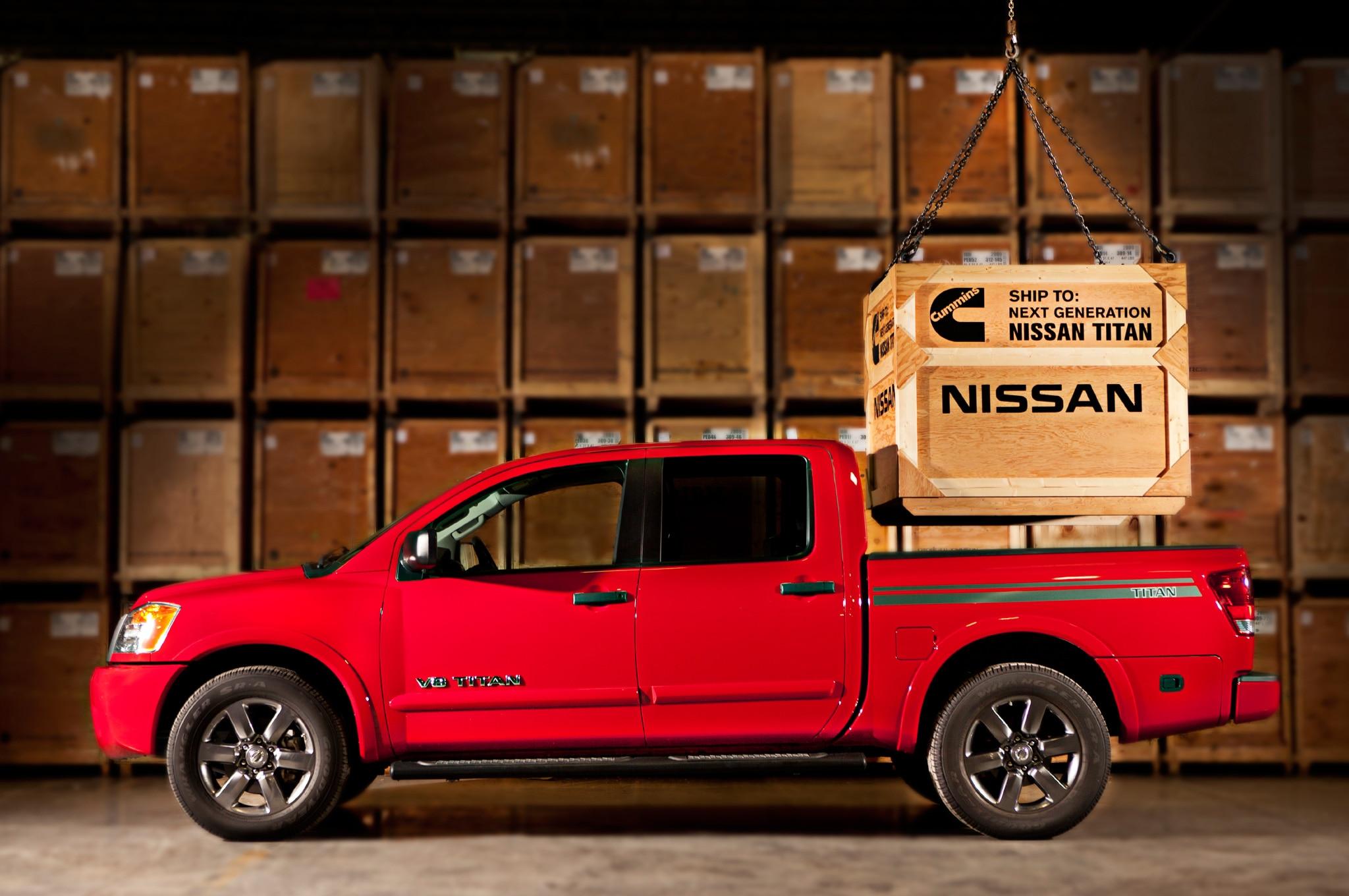 Nissan Titan Cummins Promo Image1