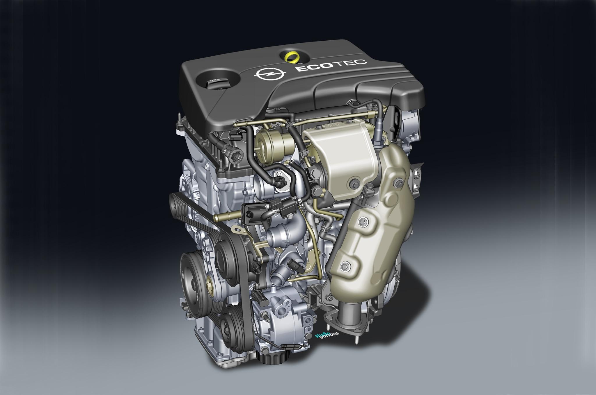 Opel 1 0 Liter SIDI Turbo I 3