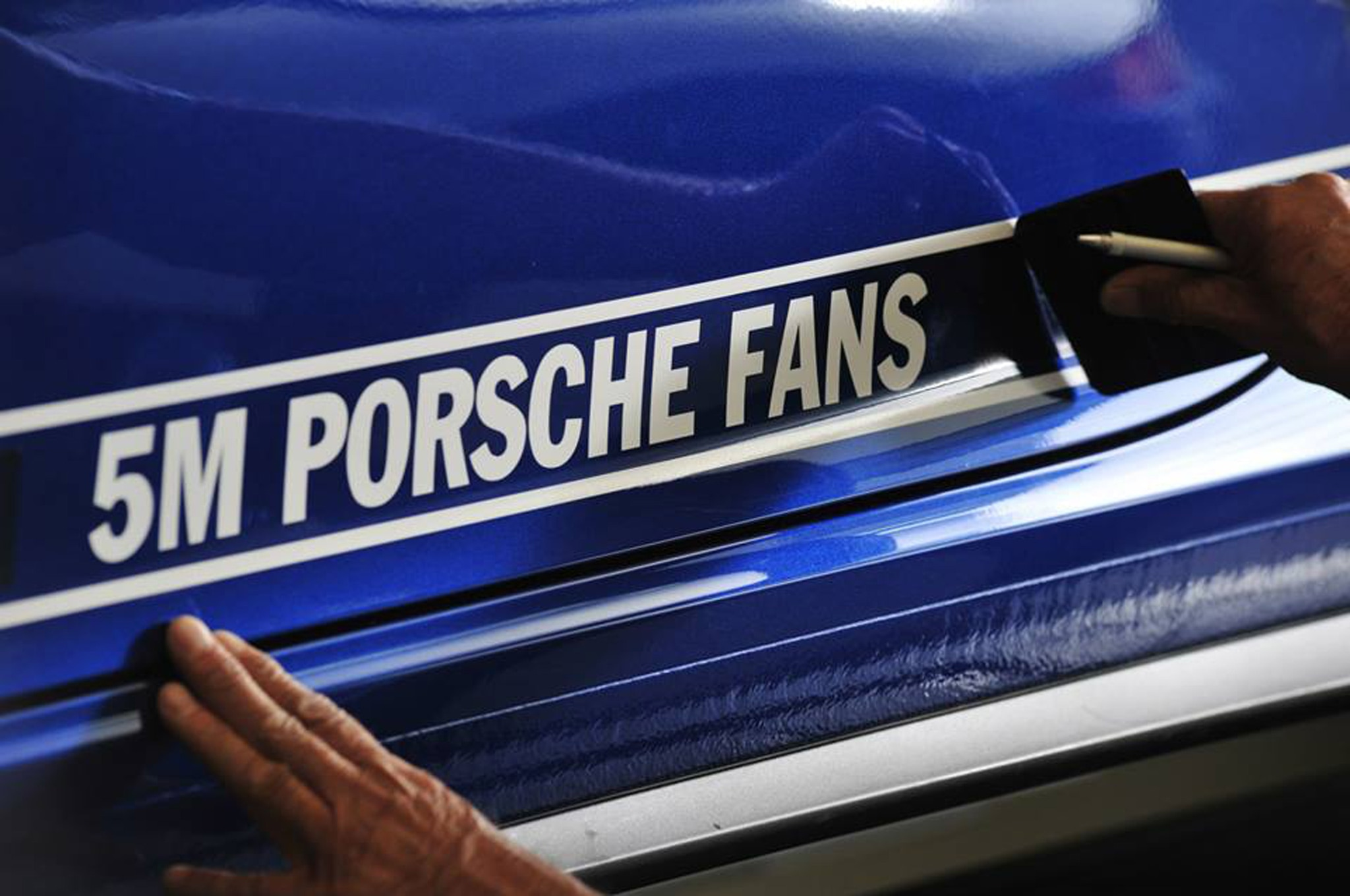 Porsche 5 Million Car 911 Carrera 4S Decal1