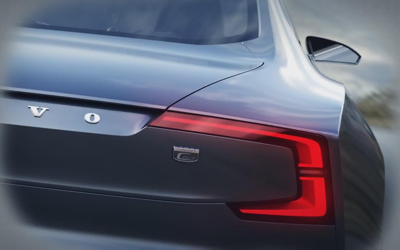 Volvo Concept C Coupe Teaser Rear1