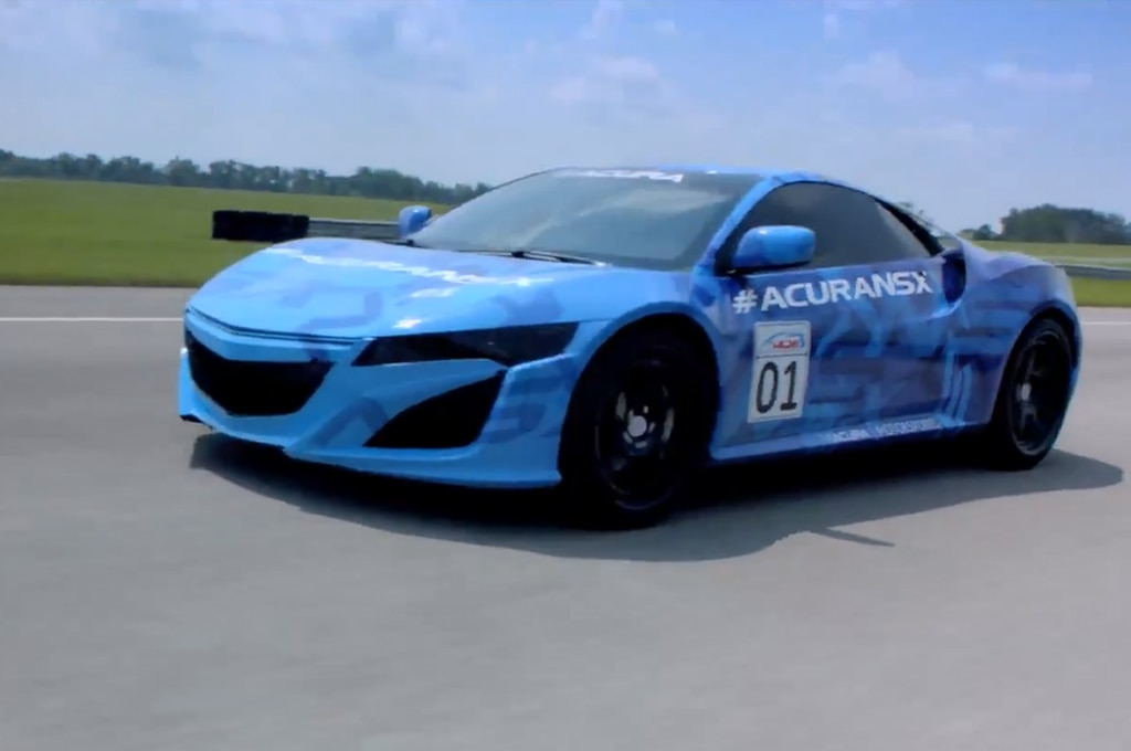 Acura Nsx Left Front Track1