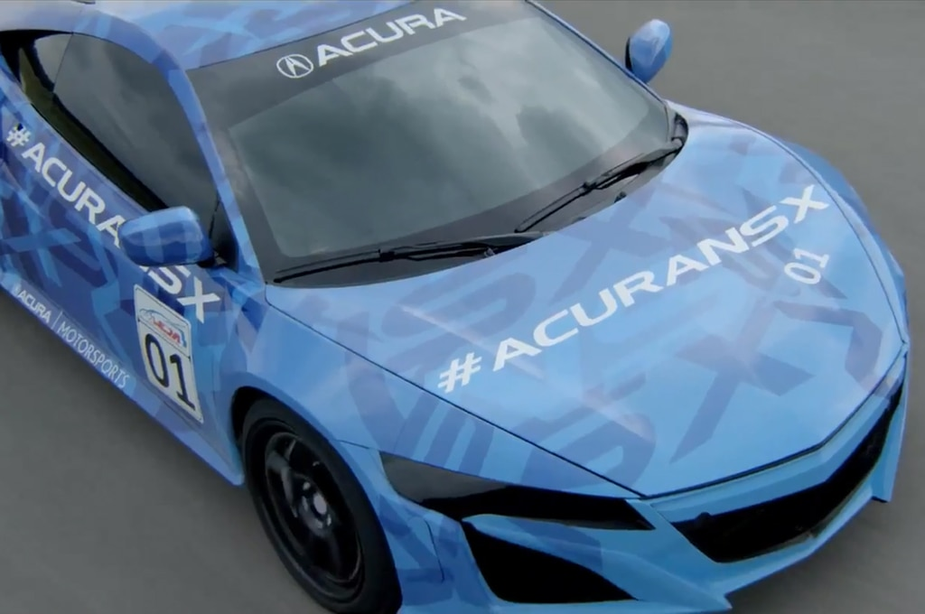 Acura Nsx Top View1
