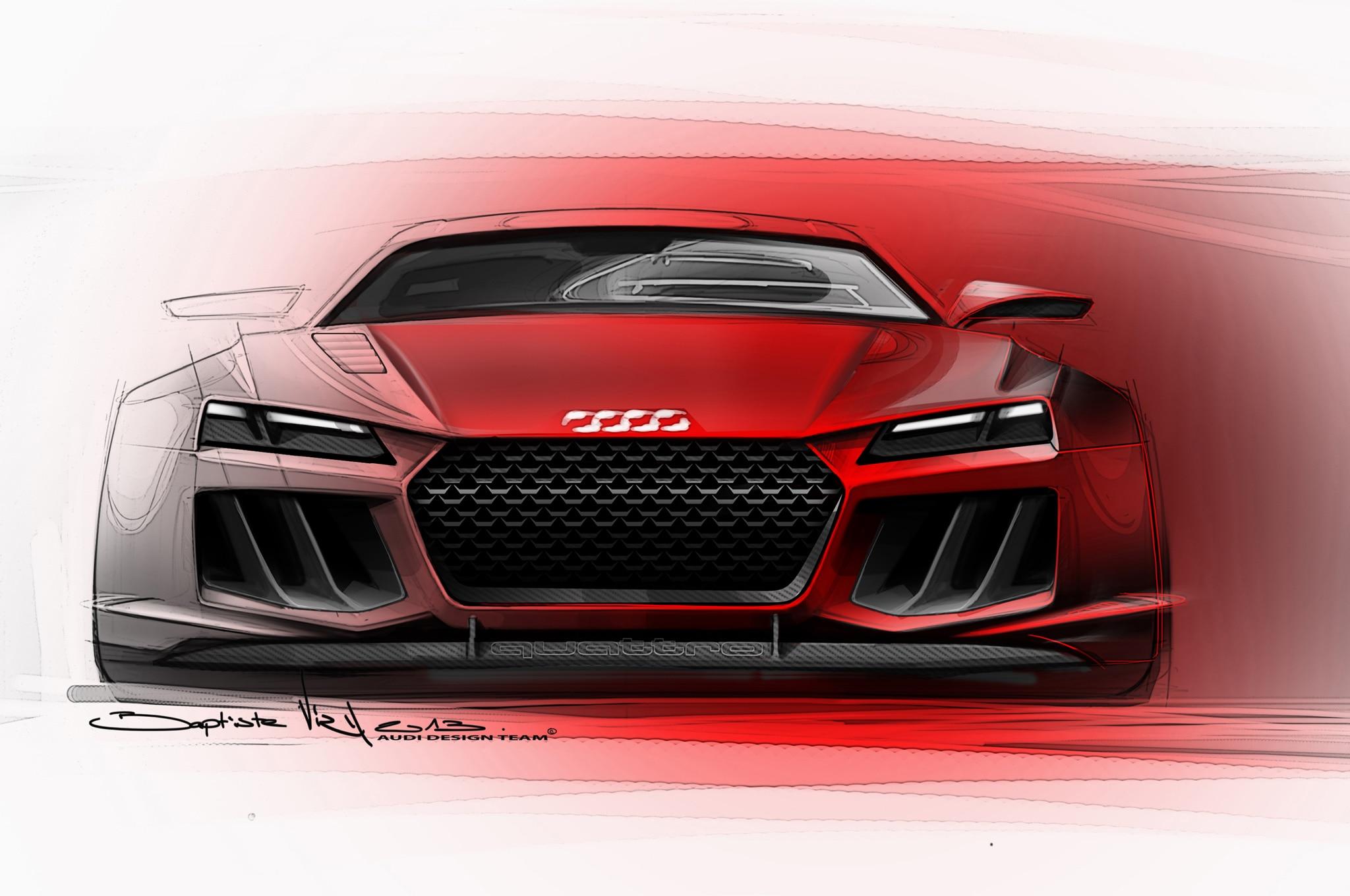Audi Quattro Sketch 21