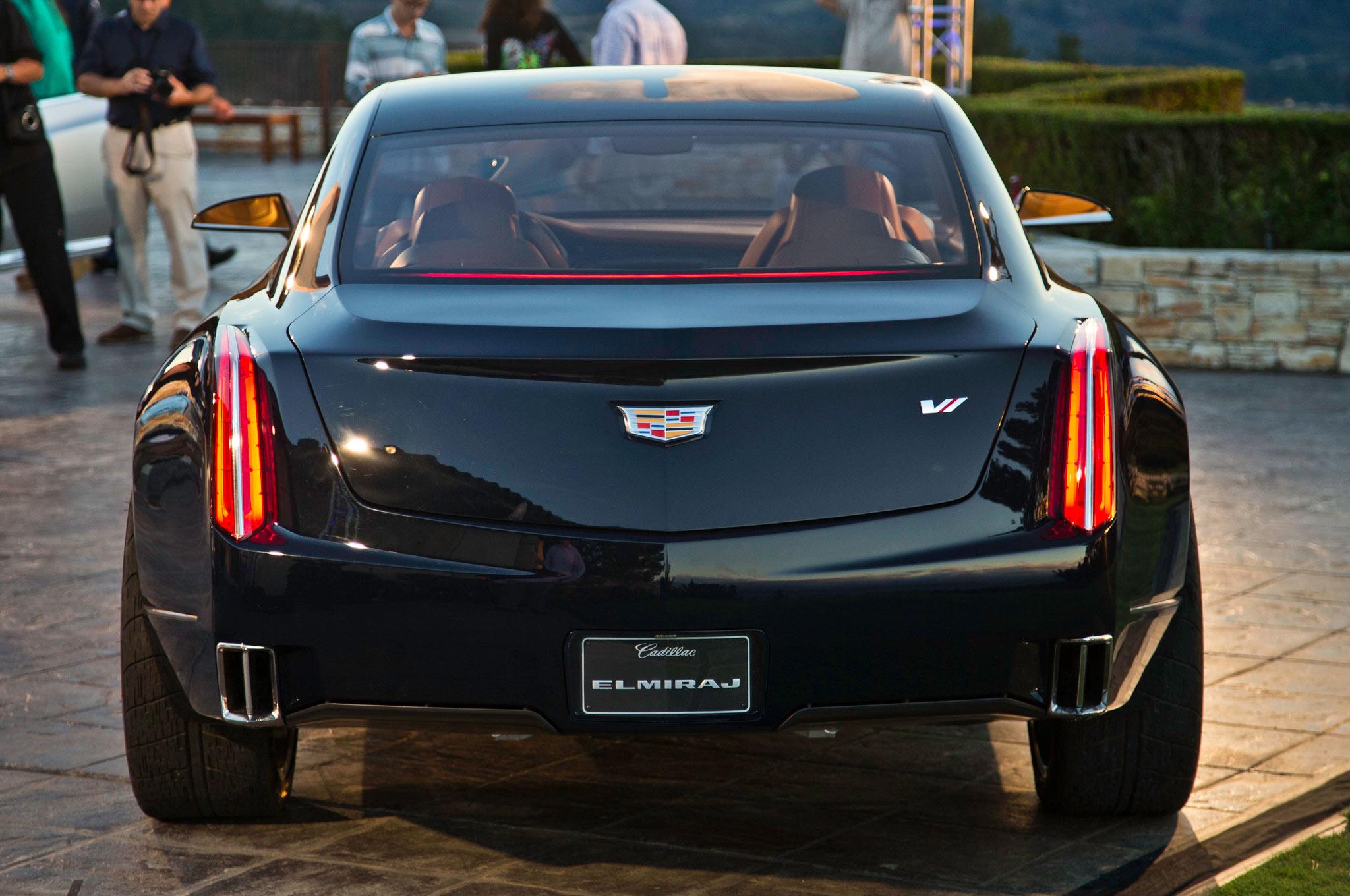 2013 Cadillac Elmiraj Concept Revealed At Pebble Beach