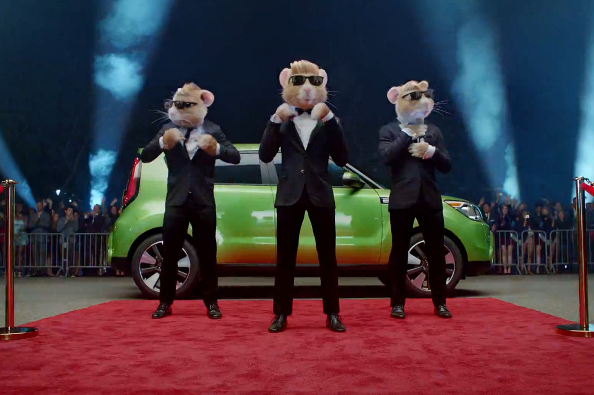 2014 Kia Soul Ad Shows off Stylish New Hamsters