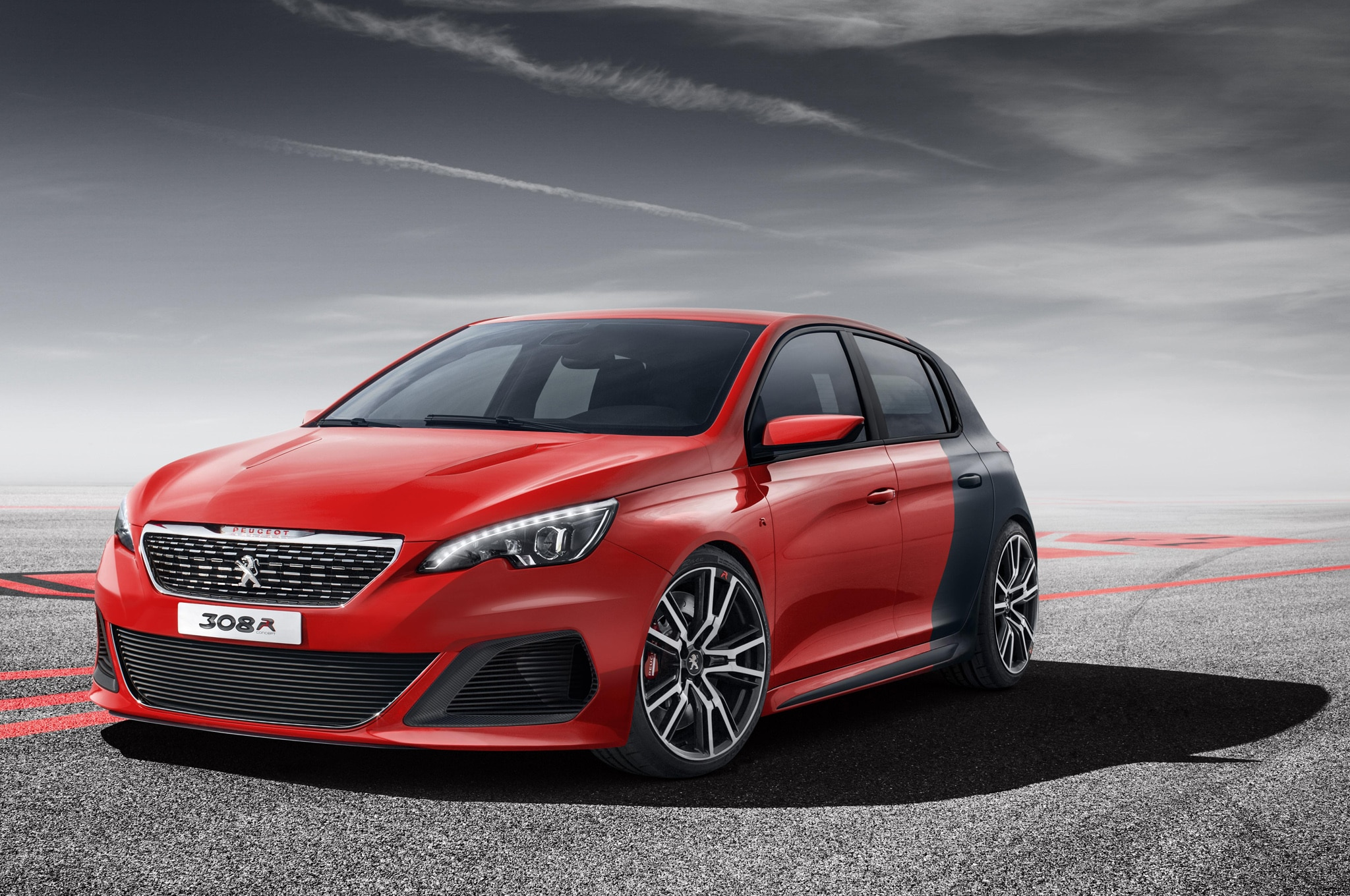 Peugeot 3085 Concept Front Three Quarter View1