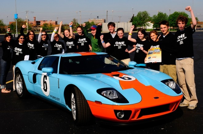 Teen Drivers And Ford GT 660x438