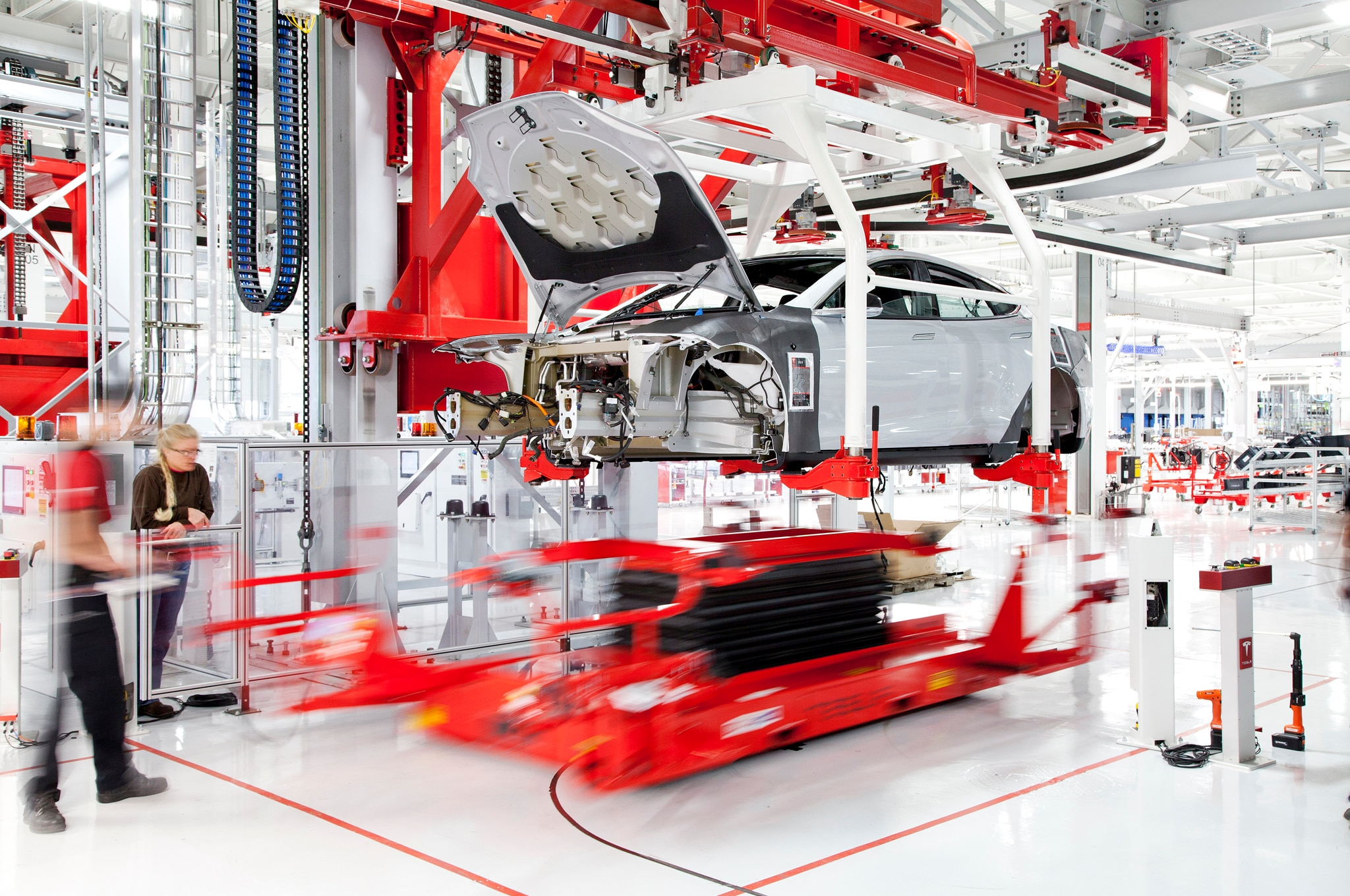 Tesla California Assembly Plant1