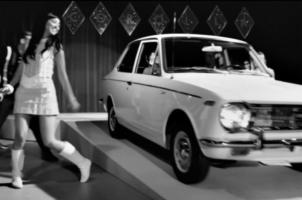 1966 Toyota Corolla Style Ad1