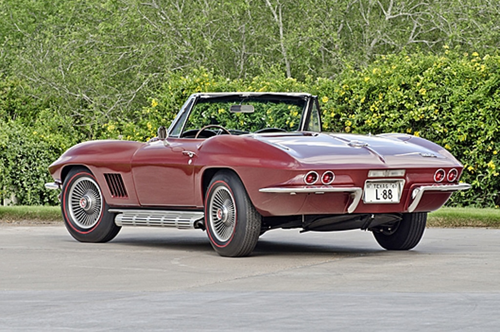 1967 Chevrolet Corvette L88 Rear Three Quarter1
