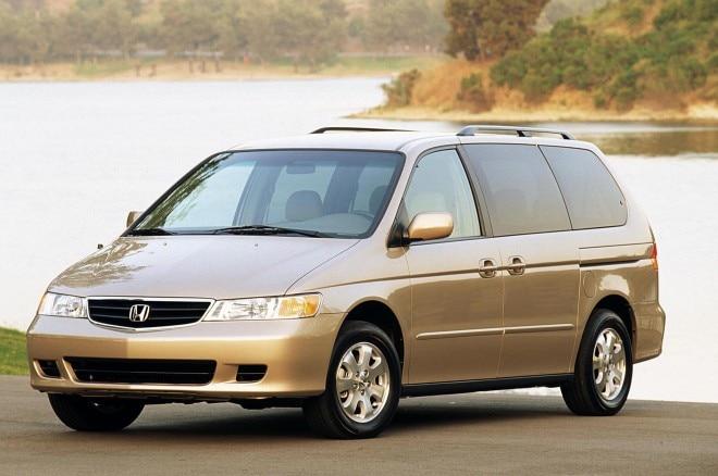 2003 Honda Odyssey Front Three Quarters1 660x438