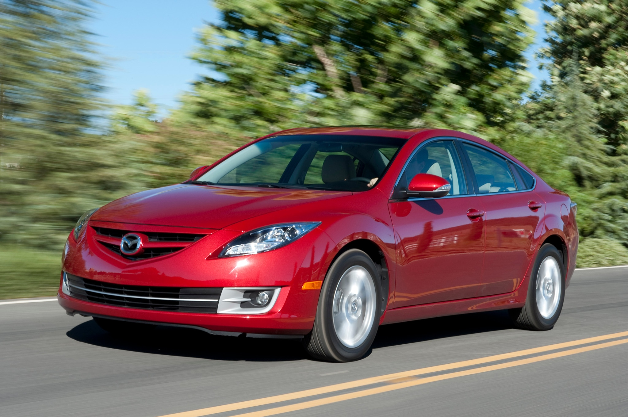 2012 Mazda 6 Front Three Quarters1