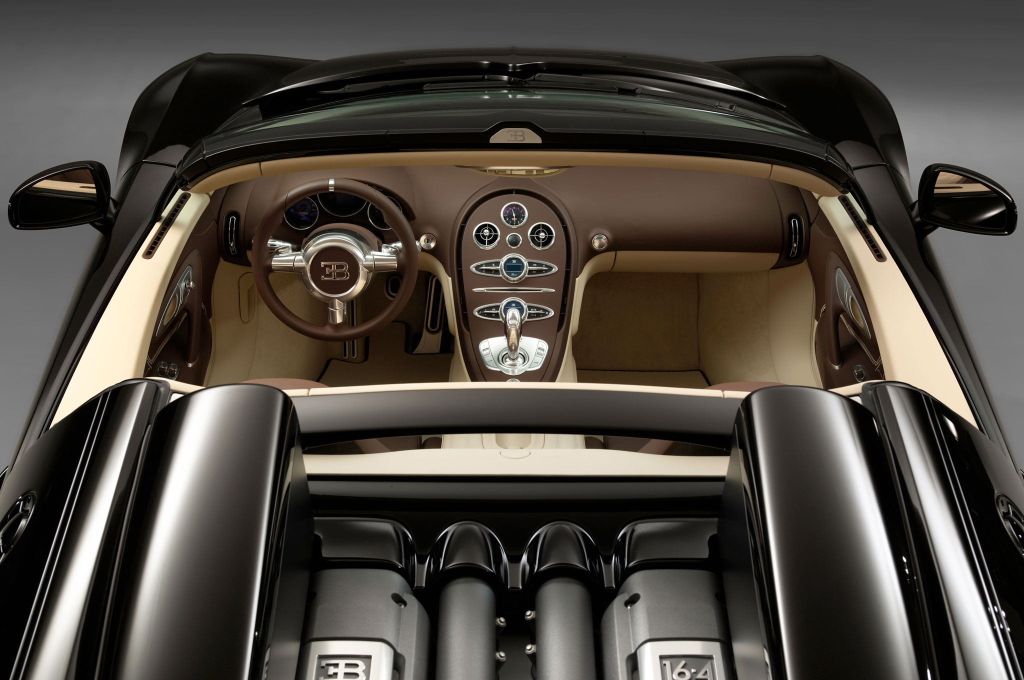 2013-Bugatti-Veyron-Jean-Bugatti-Legend-Edition-interior Terrific Bugatti Veyron Grand Sport Vitesse Gold Cars Trend