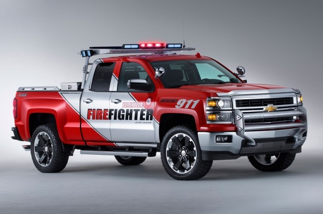 2013 Chevrolet Silverado Z71 Volunteer Firefighter SEMA Concept Truck Right Side1 660x438