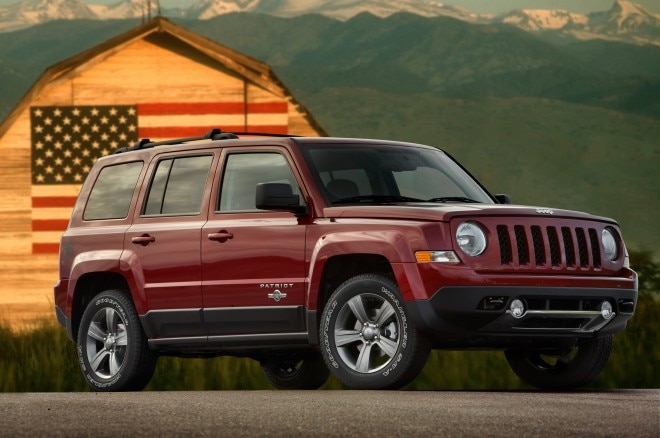 2013 Jeep Patriot Front Three Quarter1 660x438