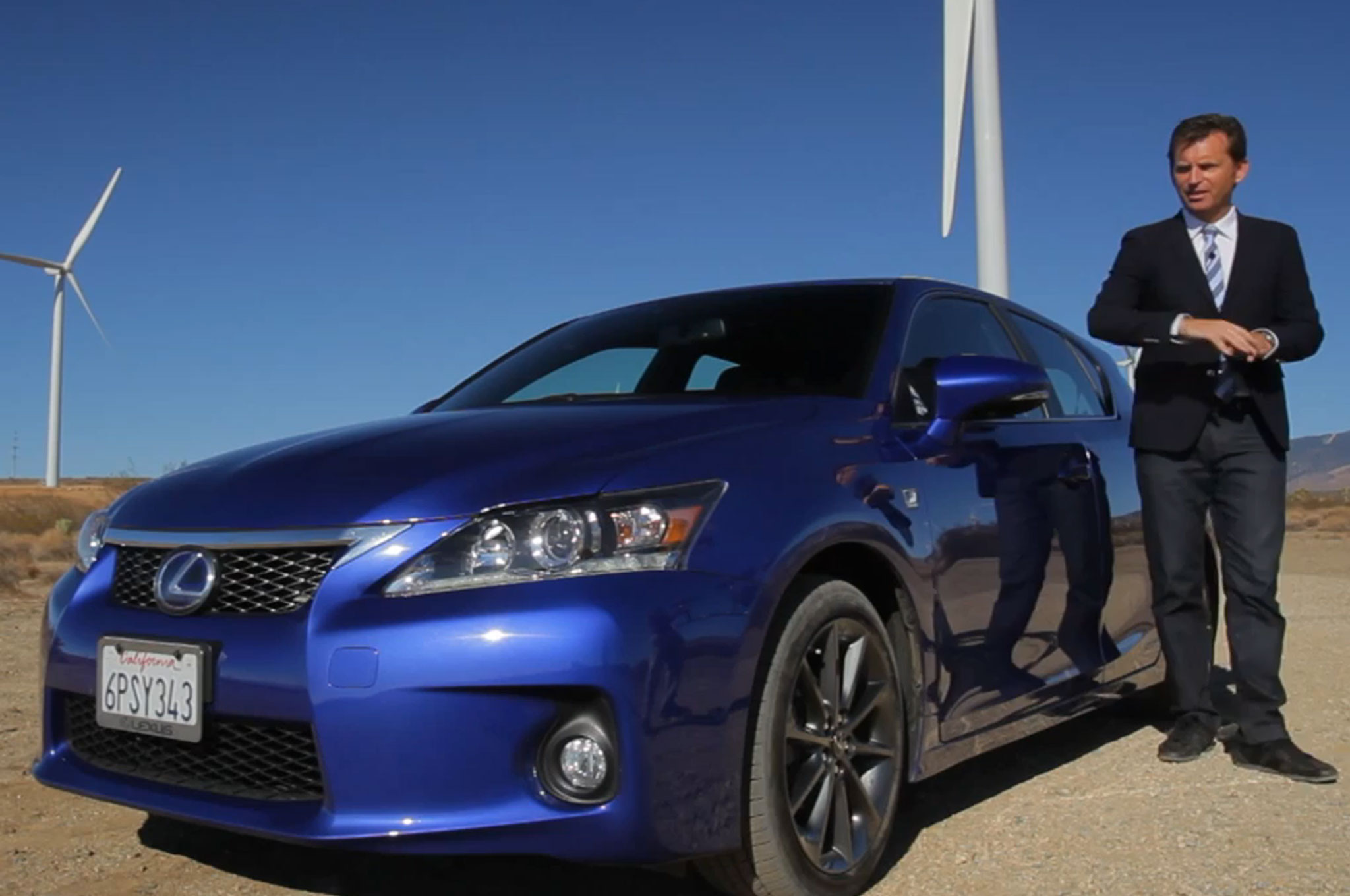 2013 Lexus CT F Sport With Justin Bell Screen Grab1