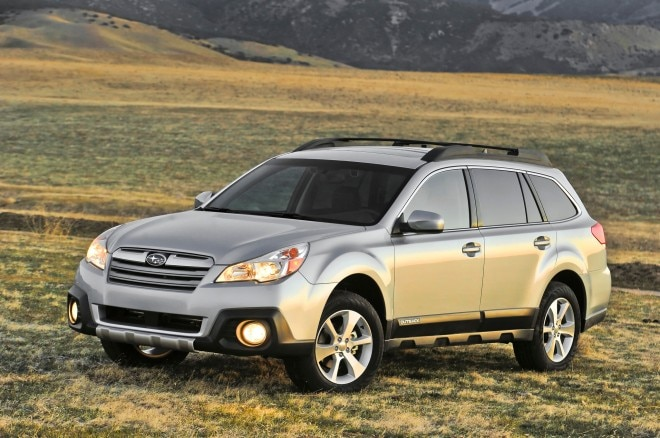 2013 Subaru Outback Left Front 11 660x438