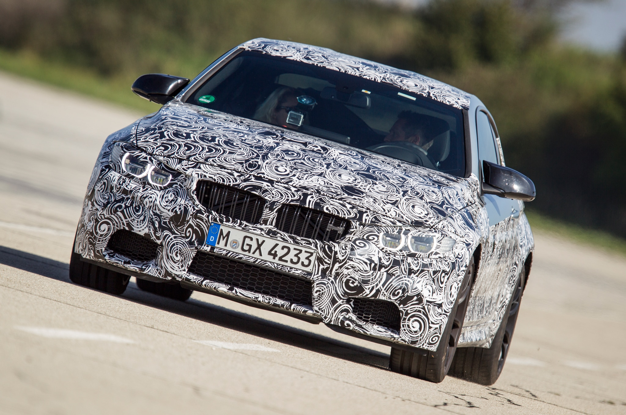 2014 BMW M4 Technology Days Front End1