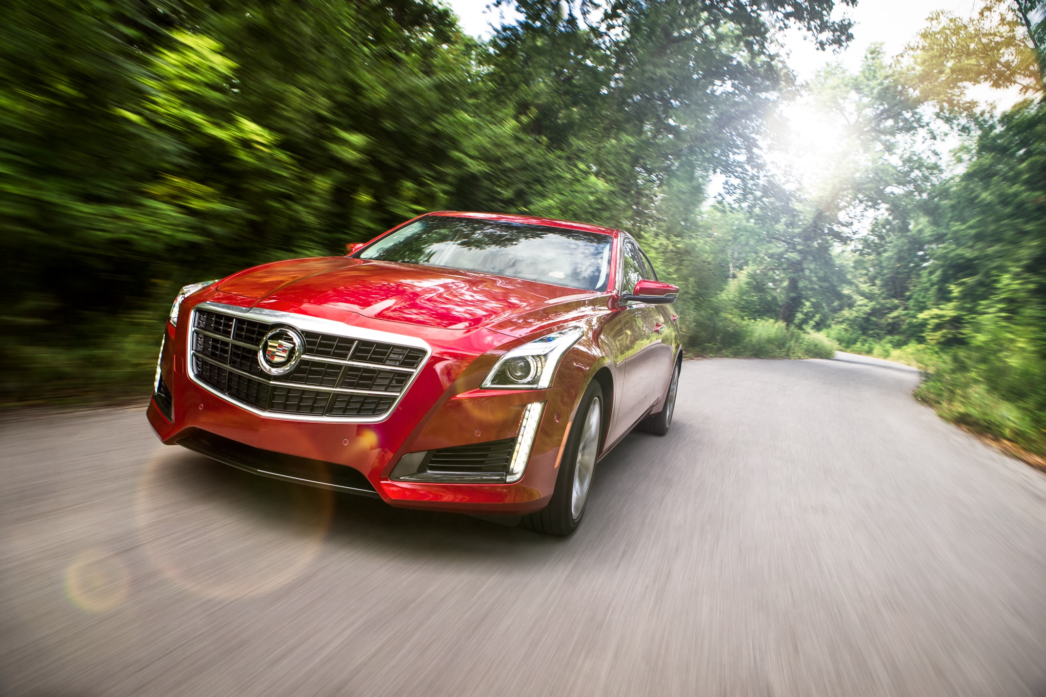2014 Cadillac CTS V Sport Front Left View1
