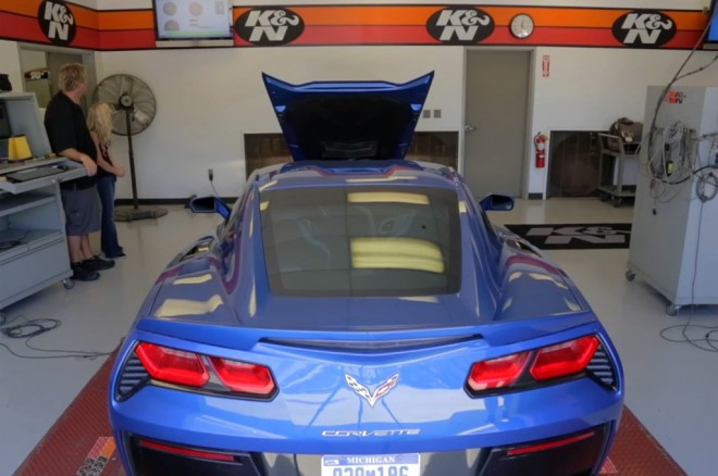 2014 Chevrolet Corvette Stingray Z51 On Dyno1 660x438