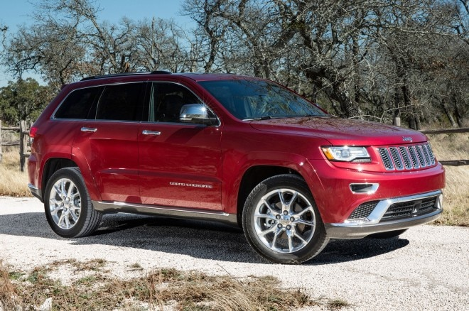 2014 Jeep Grand Cherokee Front Side View1 660x438