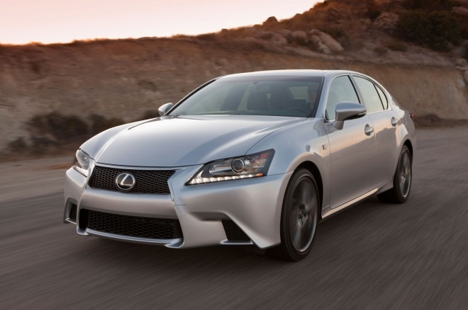 2014 Lexus GS350 Front Three Quarter1 660x438