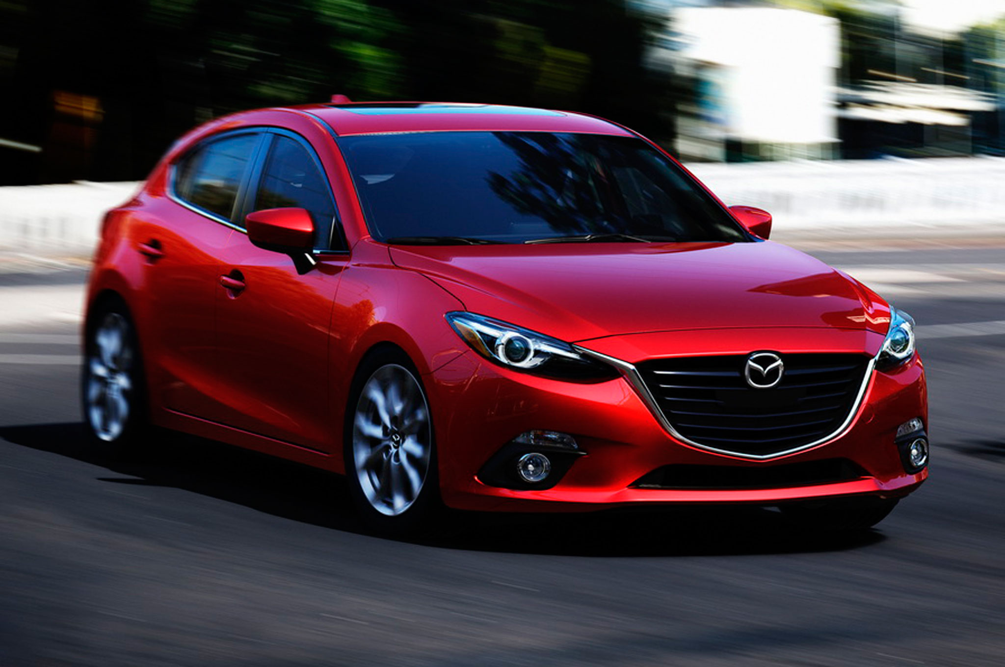 Video Behind The Scenes The 2014 Mazda3 mercial