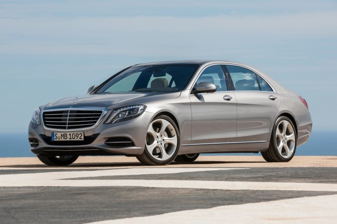 2014 Mercedes Benz S550 Front Three Quarter1 660x438