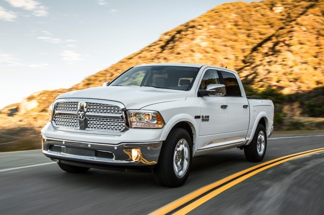2014 Ram 1500 Laramie EcoDiesel In Motion1 660x438