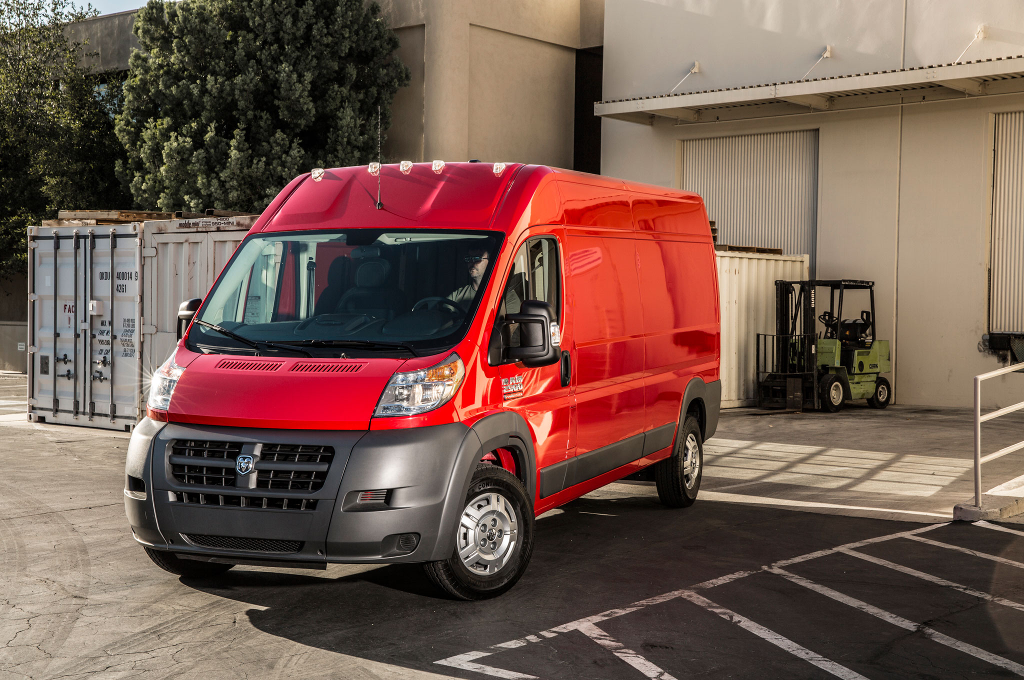 2014 Ram ProMaster Front Left View 21
