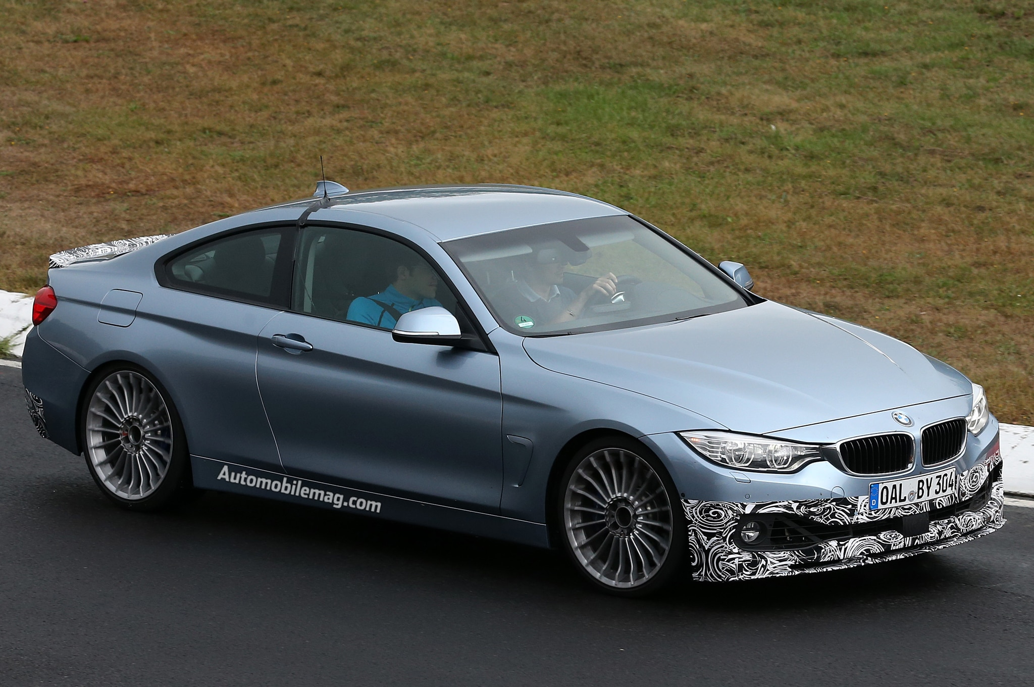 2014 Bmw Alpina B4 Coupe Right Front Side1