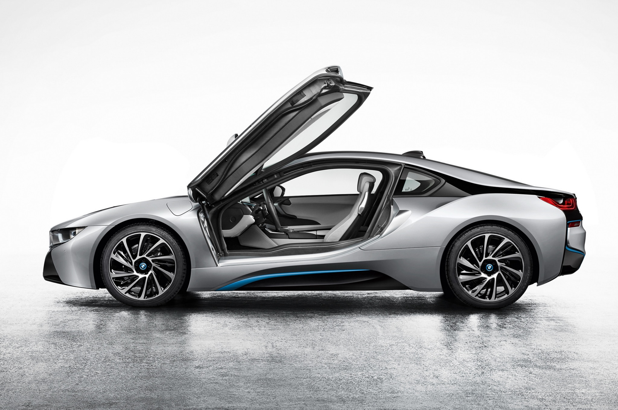 2014 Bmw I8 Profile1