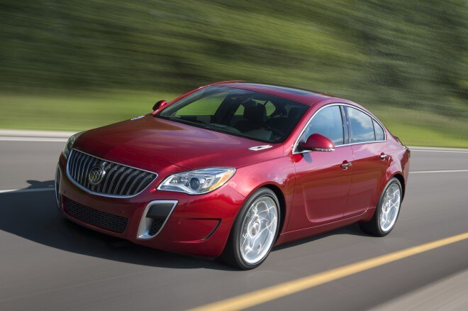 2014 Buick Regal Gs Front Three Quarters1 660x438