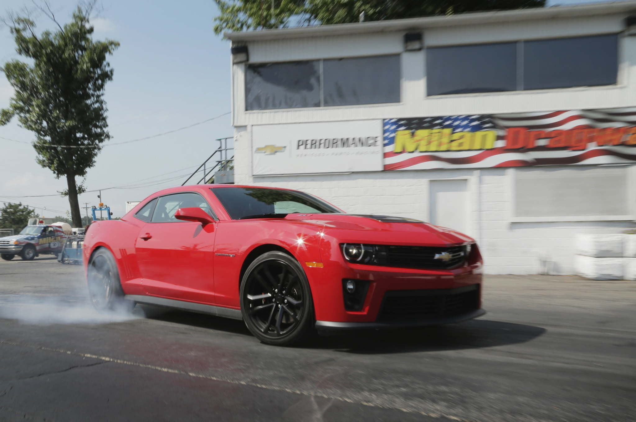 2014 Chevrolet Camaro Zl1 Burnout